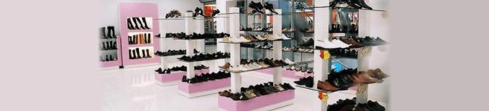 Розничная продажа обуви